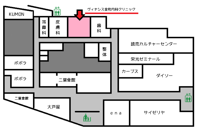 建物内地図